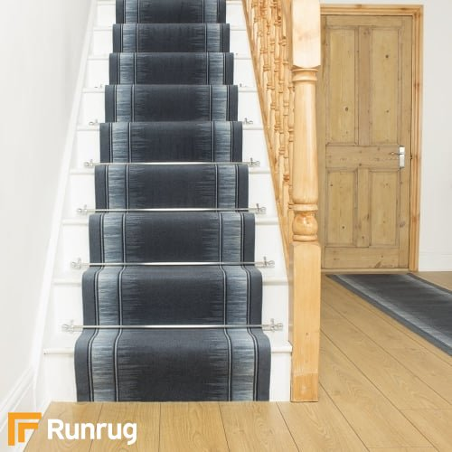 Scala Blue Stair Runner