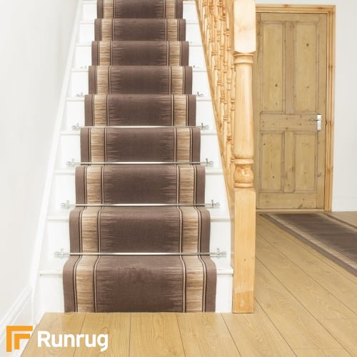 Scala Brown Stair Runner
