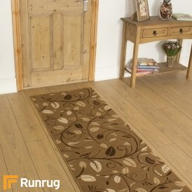 Scroll Beige Hall Runner