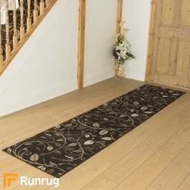 Scroll Brown Hall Runner