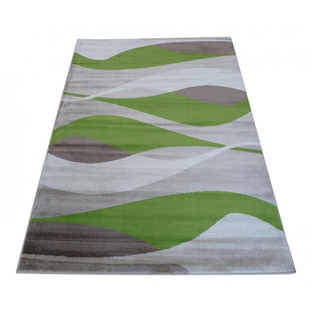 Green Sincerity Modern Contour Rug