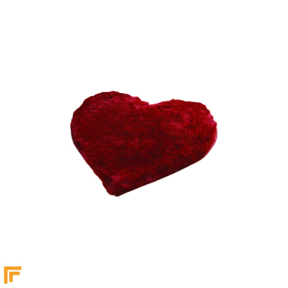 Cupid Heart Bright Pink Children's Rug
