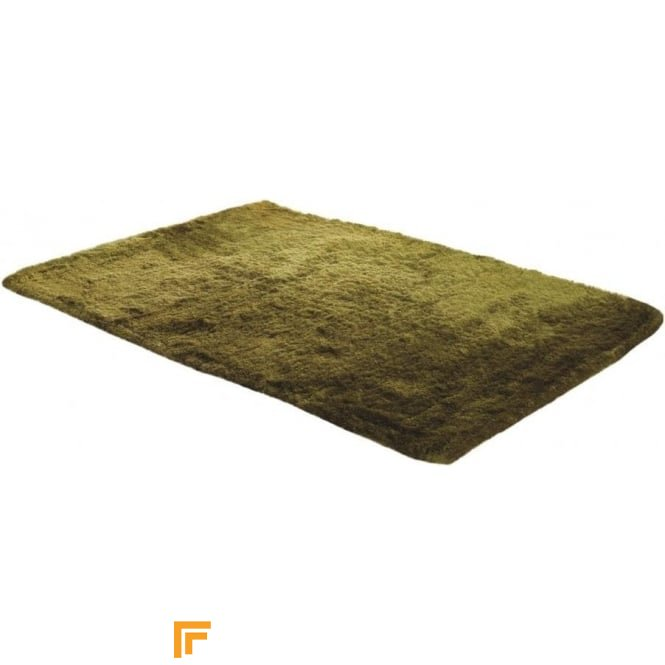 Carpet Runners UK Splendour - Shadow Lime Green Rug