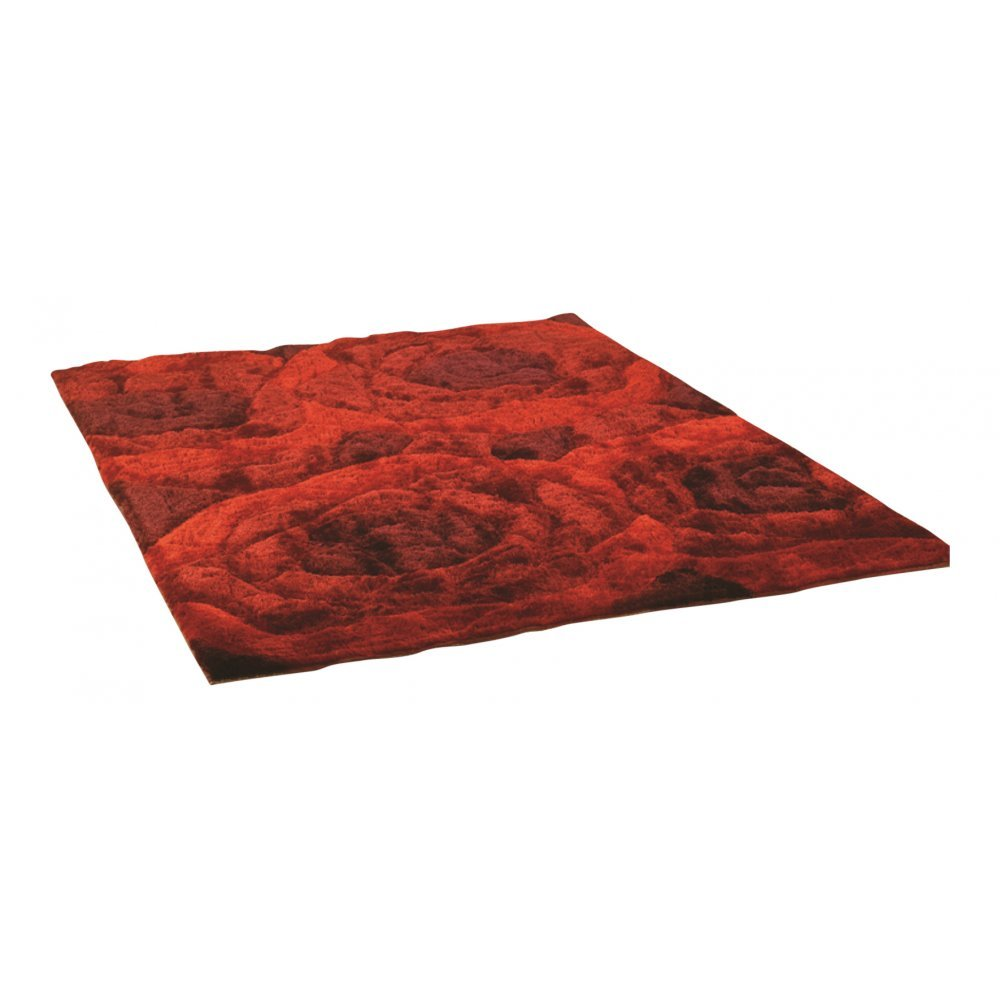 Red Taj Agra -Ruby Rug