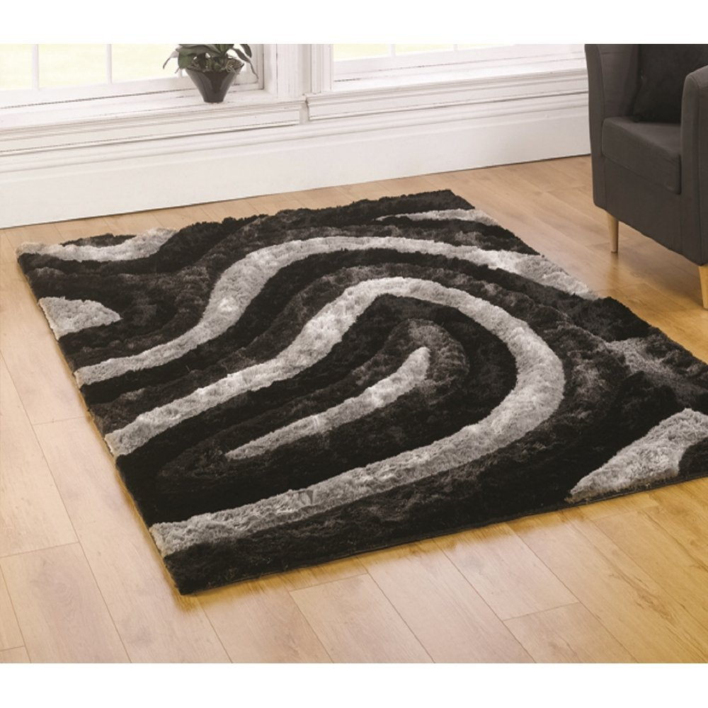 Black Rug Perfect And White Rugs Shop For