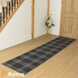 Tartan Black Hall Runner