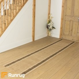 Tribal Beige Hall Runner