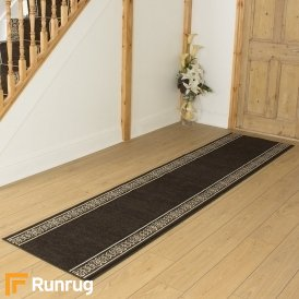 Tribal Brown Hall Runner