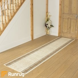 Tribal Cream Hall Runner