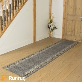 Tribal Grey Hall Runner