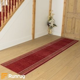 Tribal Red Hall Runner