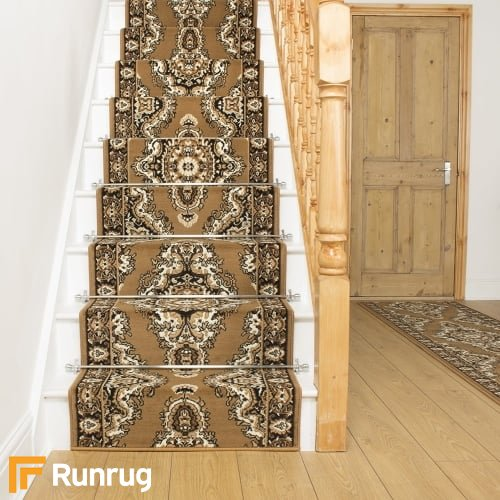Turkesh Gold Stair Runner