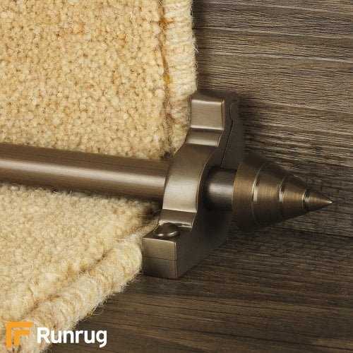 Vision Bronze Finish Arrow Plain Stair Carpet Runner Rods