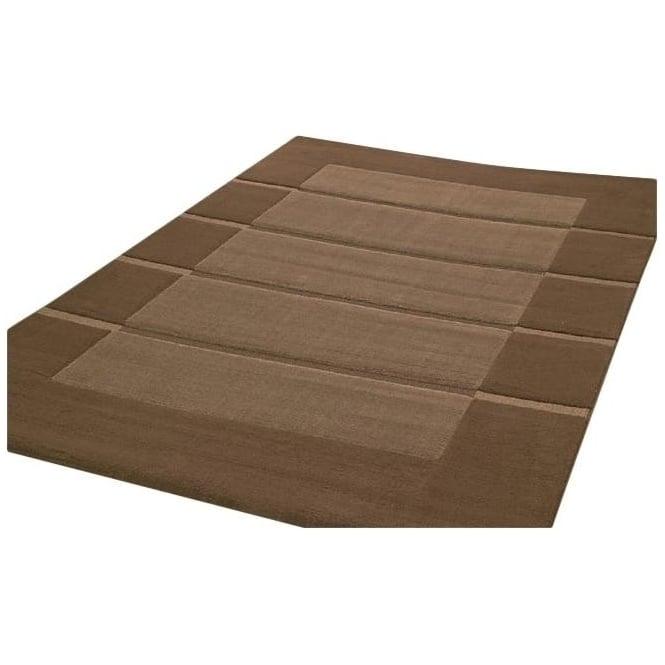 Dark Brown Visiona Soft Rug Carpet Runners Uk