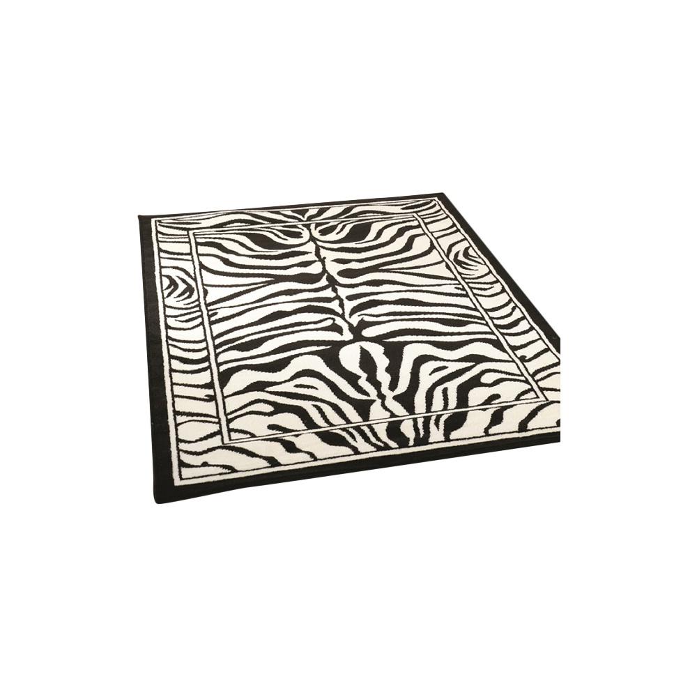 Black & White Zebra Rug