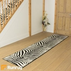 Zebra Print Hall Runner