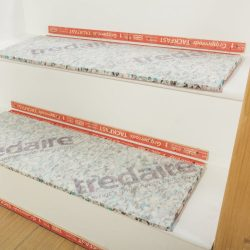 how to lay stair underlay and grippers