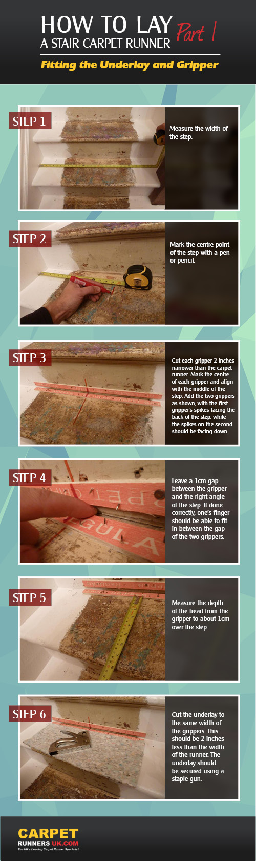 How to Lay Underlay