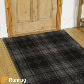 Ayr Jet Black/Walnut Runner