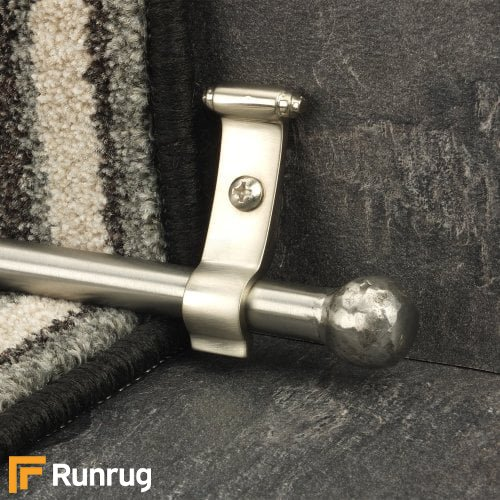 Blacksmith Stainless Steel Ball Plain Stair Rod