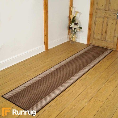 Capitol Brown Rug Runners