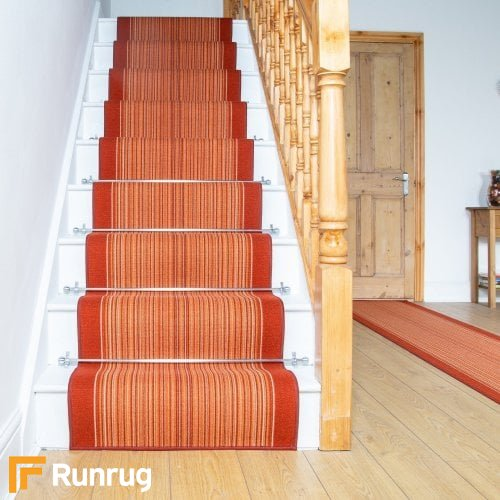 Carnaby Terracotta Stair Runners