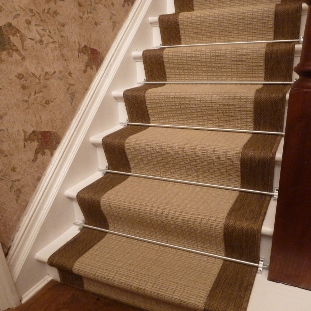 Beige Stair Runner Rug Jenga Free Delivery Plus A No