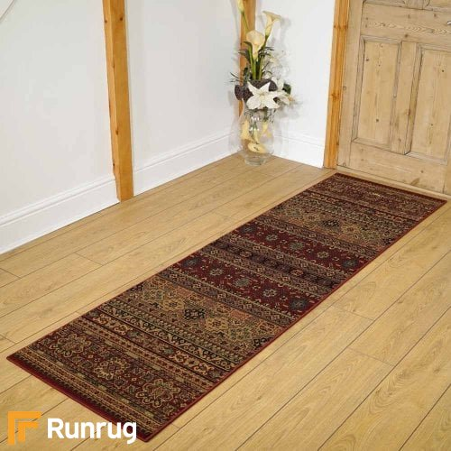 Kendra Red/Beige R Rug Runners