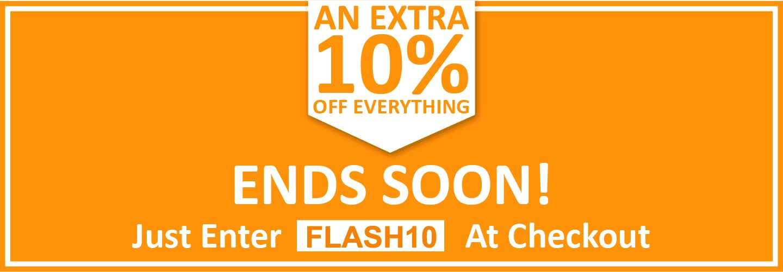 Flash sale header promo deep