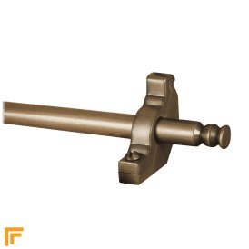 Premier Antique Bronze Balmoral Plain Stair Rod