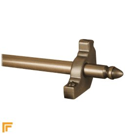 Premier Antique Bronze Lancaster Plain Stair Rod
