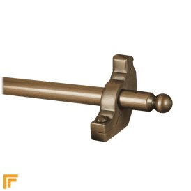 Premier Antique Bronze Windsor Plain Stair Rod