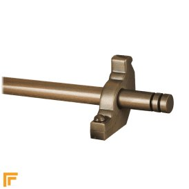 Premier Antique Bronze Woburn Plain Stair Rod