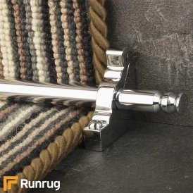 Premier Chrome Balmoral Plain Stair Rod