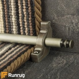 Premier Pewter Balmoral Plain Stair Rod