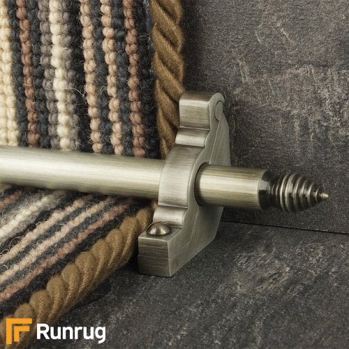 Premier Pewter Chatsworth Plain Stair Rod