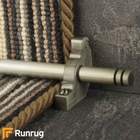 Premier Pewter Woburn Plain Stair Rod