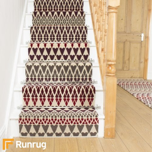 Quirky B Margo Selby Reiko 7082 Stair Runners