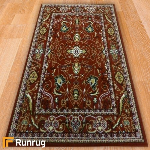 Range 83 - Red Traditional Style Rug