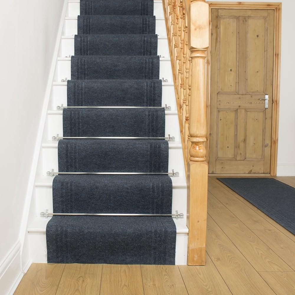 Ringo Blue Stair Carpet Runner Stair Runner Free