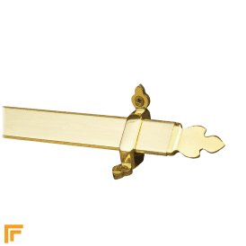 Royal Polished Brass Beaumont Stair Rod