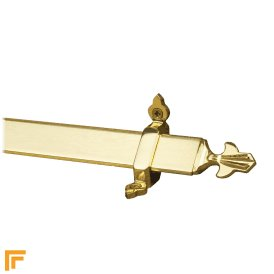 Royal Polished Brass Louis Stair Rod