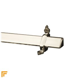Royal Polished Nickel Vue Stair Rod