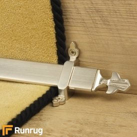 Royal Satin Nickel Louis Stair Rod