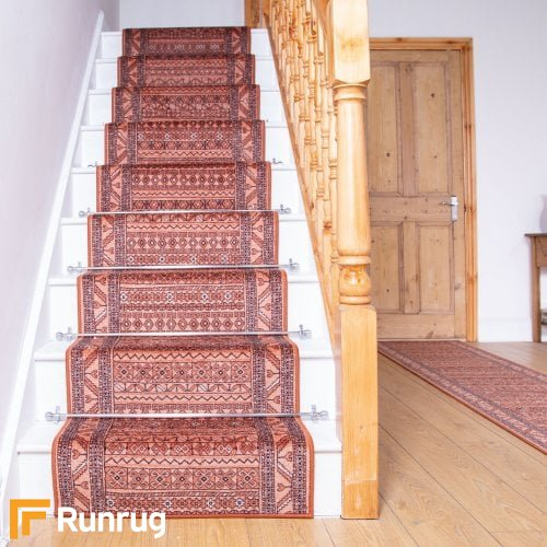 Ryma Terracotta Stair Runners