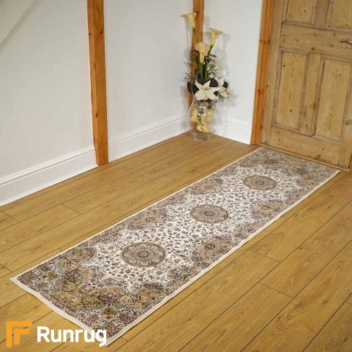 Tabriz Traditional Curve Gold Rug Runners