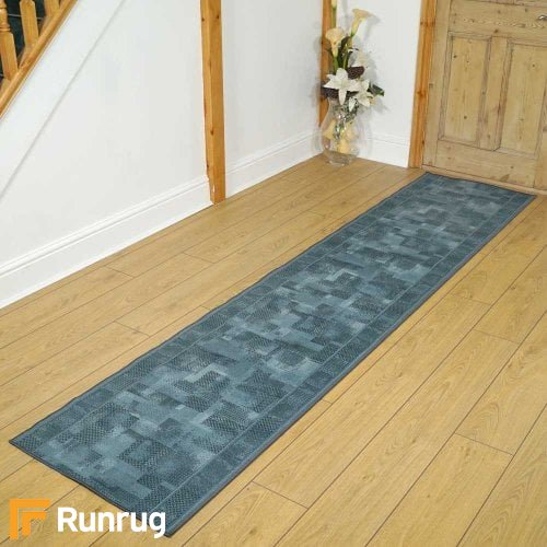 Tribe Blue Rug Runners