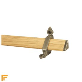Tudor Pewter Light Wood Stair Rod