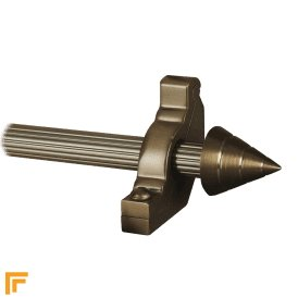Vision Bronze Arrow Reeded Stair Rod