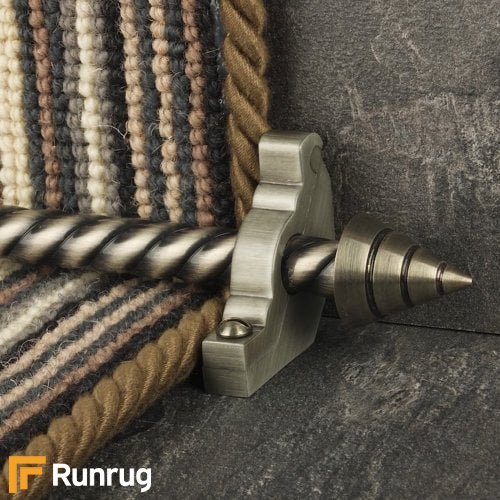 Vision Pewter Arrow Spiral Stair Rod